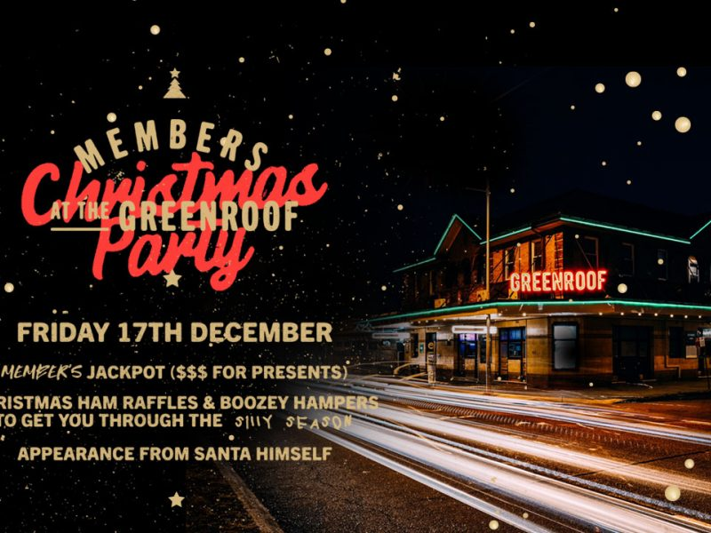 MEMBER'S CHRISTMAS PARTY