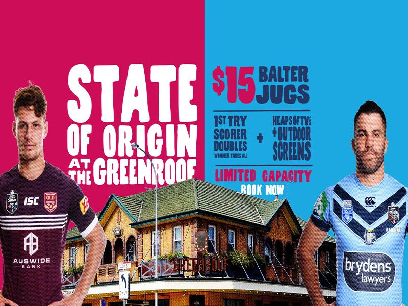 STATE OF ORIGIN GAME 1 AT THE GREENROOF