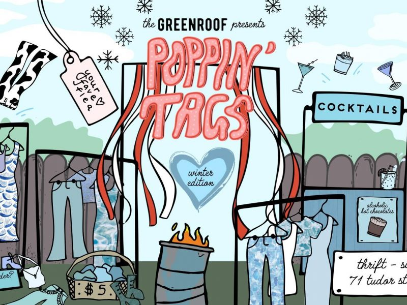 POPPIN' TAGS AT THE GREENROOF (WINTER EDITION)