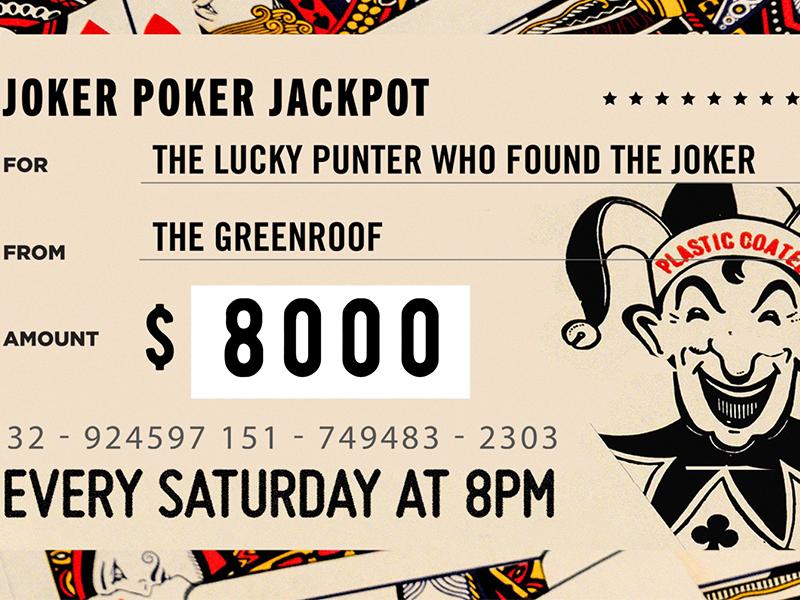 JOKER POKER JACKPOT  - Win $8000!