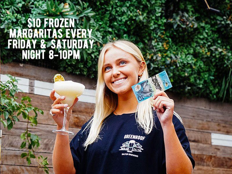 $10 Frozen Margaritas