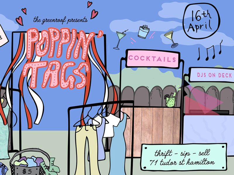 Poppin' Tags at the Greenroof