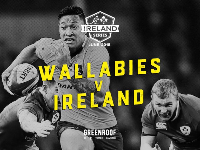 Wallabies V Ireland • $15 Stone & Wood Jugs